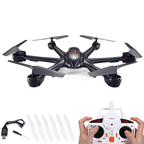 Perman MJX X600 2.4G RC Quadcopter Drone Hexacopter 6 Axis RTF Aircraft Drone Gyro UFO Flight Black