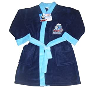 Mouse overBOYS DRESSING GOWN ROBE THOMAS THE TANK ENGINE 18-5 YEARS OLD (18-24 MONTHS)