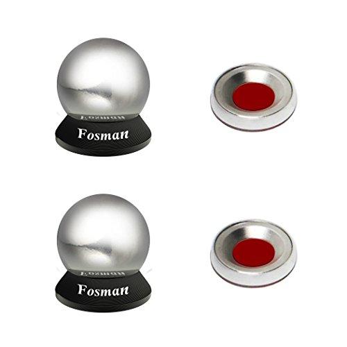 FosmanTM Universal Magnetic Car Mount Holder for iPhone Samsung Sat Nav Mini Tablets ( 2magnets +2 balls )