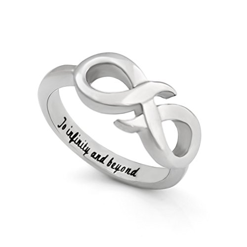 infinity ring for girlfriend or boyfriend promise ring