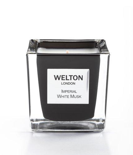 WELTON LONDON ウェルトンロンドン ONYX COLLECTION フレグランスキャンドル 150gImperila White Musk