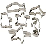 Set of 6 Sea themed Cookie Cutters