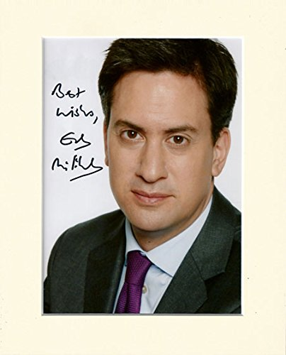 ed-miliband-labour-party-leader-signed-autograph-photo-print-in-mount-secret-santa