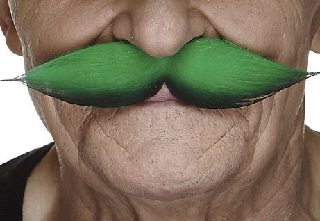 St. Patty's leprechaun moustache