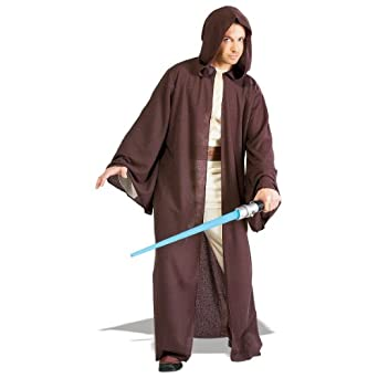 Deluxe Jedi Robe Costume - Standard - Chest Size 40-44