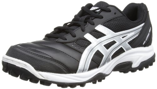 Asics Mens Gel-Lethal M Black/Silver Field Hockey Shoes P316Y 9093 11 UK, 46 EU