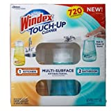 Windex Touch Up 3 Pack Antibacterial Multi-Surface Cleaner. 2 Bathroom and 1-Kitchen