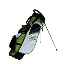 Tour Edge Exotics Lite 3.5 Stand Bag (Lime Green/White/Black)