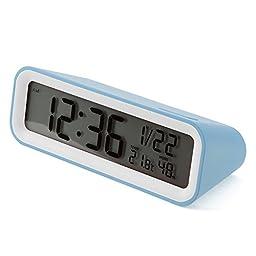 Mondo Digital Alarm Clock Blue