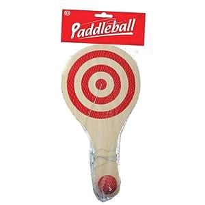 Tobar Wooden Paddle Ball