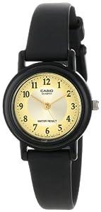 Casio Women's LQ139A-9B3 Black Casual Classic Analog Watch
