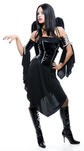 Junior Girls Midnight Angel Costume - 7-9