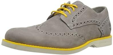 (新品)天木兰 Timberland 男款2013时尚牛巴革休闲皮鞋Men's Stormbuck 折后 $85.66