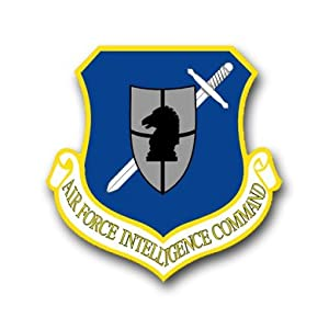 US Air Force Intelligence Command Decal Sticker 3.8""