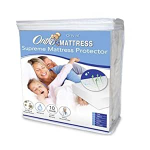 supreme mattress protector twin xl home kitchen. Black Bedroom Furniture Sets. Home Design Ideas