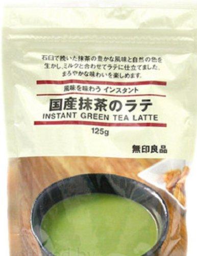 Moma Muji Japan Instant Matcha Green Tea Latte Powder Drink 125G