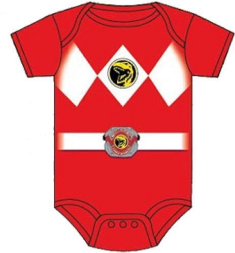 Power Rangers Red Baby Ranger Costume Romper Onesie (18-24 Months) Color: Red Size: 18-24 Months Model: (Power Ranger Model compare prices)