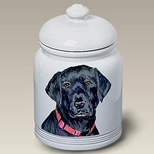 Amazon.com: Black Labrador Retriever Dog Cookie Jar by Barbara Van