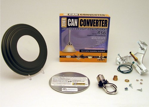Can Converter R56-RMB-ORB 5 in. & 6 in. Recessed Can Light Converter Kit with Oil Rubbed Bronze Medallion (Can Light Converter Kit compare prices)