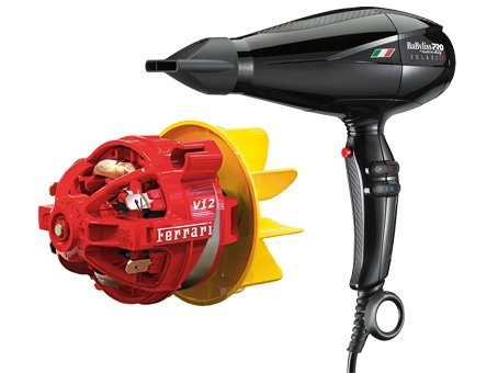 BaByliss Pro Volare V1 Ferarri 2200w Hair Dryer Black