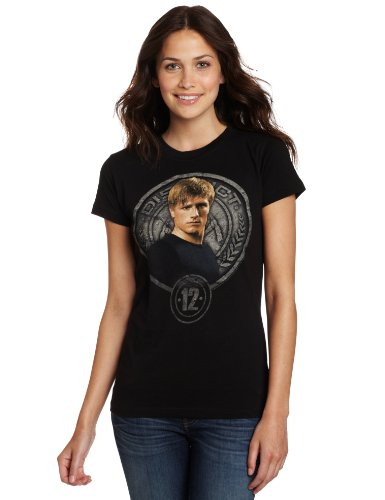 FEA Juniors Hunger Games Movie Peeta In Stone Seal Tissue Tee