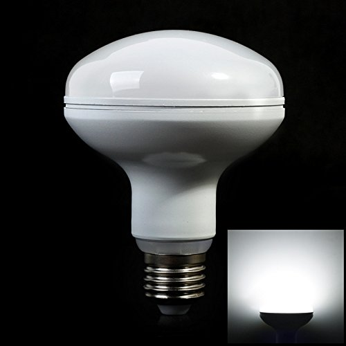 [Pack Of 5]Lvjing® New Arrival Cool White E27 15W Dimmable Umbrella Bulb 5730Smd Led Spotlight 180 Degrees Lamp R90 Day White (Day White-Dimmable, 5Pcs)