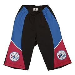 NBA Philadelphia 76ers Ladies Cycling Shorts, X-Large by VOmax