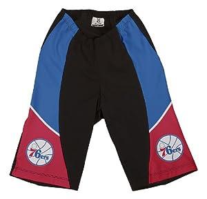 NBA Philadelphia 76ers Ladies Cycling Shorts, Large by VOmax