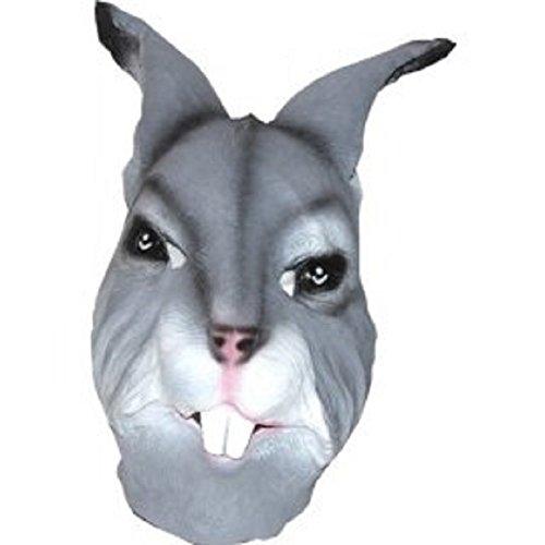 Deluxe Latex Bunny Costume Mask Halloween Costume By Crazy Halloween Mask