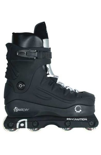 Anarchy Revolution Aggressive Skates - Black - Size UK8