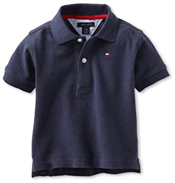 Tommy Hilfiger Baby-Boys Infant Ivy Polo Shirt, Core Navy, 12 Months