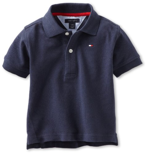 Tommy Hilfiger Baby-Boys Infant Ivy Polo Shirt, Core Navy, 24 Months