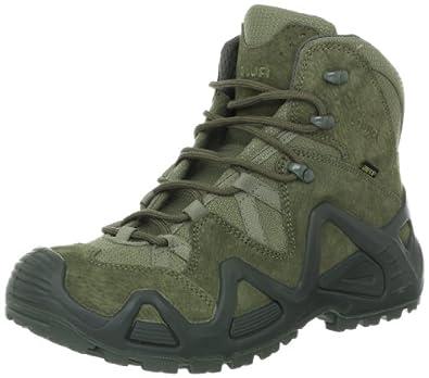(德国)(高端)Lowa 男士GTX中帮徒步靴 Zephyr Mid TF Hiking Boot 绿 折后 $136.5