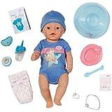 Baby Born Interactif - Coffret Garçon - Poupon à Fonctions 43cm & Accessoires