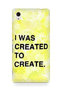 AMEZ i was created to create Back Cover For Sony Xperia M4