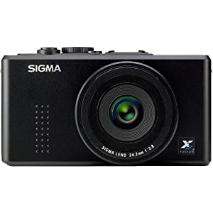 Sigma DP2 14MP FOVEON CMOS Sensor Digital Camera with 2.5 Inch TFT LCD