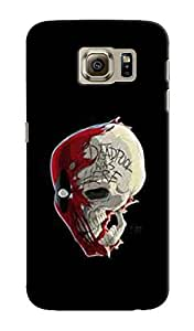 EU4IA DEADPOOL MATTE FINISH 3D MATTE FINISH Back Cover Case For SAMSUNG GALAX...