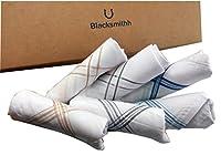 Blacksmithh 100% Gentle Cotton Handkerchief - Pack of 6