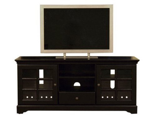 Cheap Entertainment TV Stand Console Table – Black Finish (VF_WI-HS801)
