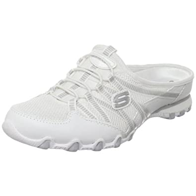 Amazon.com: Skechers Women's Bikers Out and About,Gray