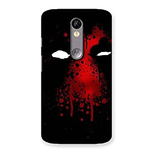 Special Horror Red Back Case Cover for Moto X Force