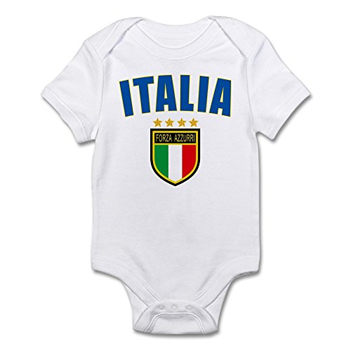 CafePress - Italian World Cup Soccer - Cute Infant Bodysuit Baby Romper (Italian Baby Soccer compare prices)