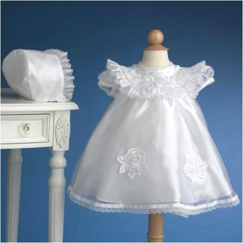 Christening Gowns Set ~ Lauren Madison Short Sheer Christening Gown with Beaded Embroidery ~ 1412 - Buy Christening Gowns Set ~ Lauren Madison Short Sheer Christening Gown with Beaded Embroidery ~ 1412 - Purchase Christening Gowns Set ~ Lauren Madison Short Sheer Christening Gown with Beaded Embroidery ~ 1412 (Lauren Madison, Lauren Madison Apparel, Lauren Madison Toddler Girls Apparel, Apparel, Departments, Kids & Baby, Infants & Toddlers, Girls, Skirts, Dresses & Jumpers, Dresses)