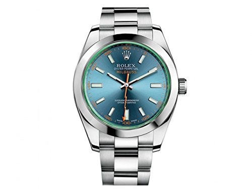 NEW Rolex Milgauss Stainless Steel Mens watch 116400 GV