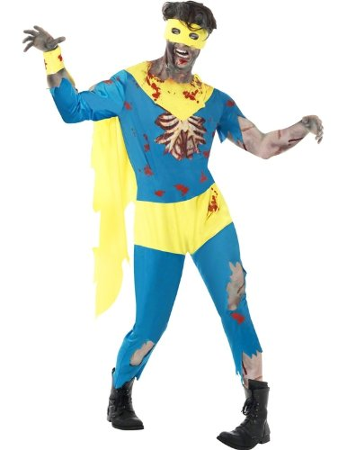 Zombie Superhero Fancy Dress Costume