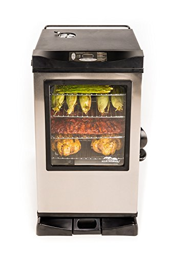 Masterbuilt Digital Electric Smoker with Window and Bonus Pack, 30""
