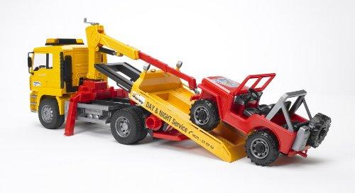 Opiniones de Bruder 2750 - MAN TGA de camiones de remolque ...