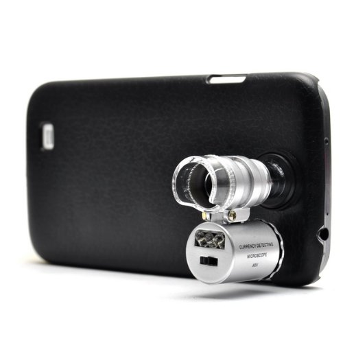 Neewer 60X Magnify Microscope With Led Light For Samsung I9500 S4
