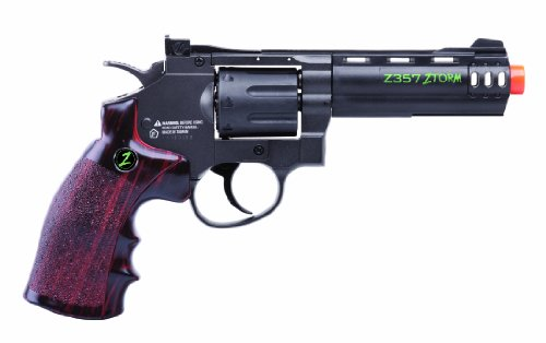 Crosman Undead Apocalypse Zombie Z357 8-Shot CO2 Airsoft Revolver