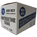 "Heavy Duty Contractor 20 Bags/3MIL (32"" by 50"")"